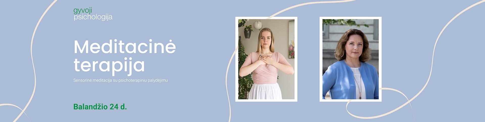 Meditacinė terapija
